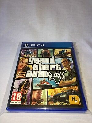Grand Theft Auto V - Gta 5 - Ps4 - Pal - Trusted - Great Price - Fast - Vgc
