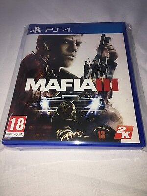 Mafia 3 Iii - Ps4 - Pal - Great Price - Trusted - Fast - New