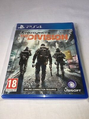Tom Clancys The Division - Ps4 - Pal - Great Price - Trusted - Fast - New