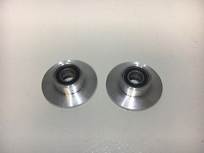Ball bearing drive shaft support for Heng Long T-90 r c tank