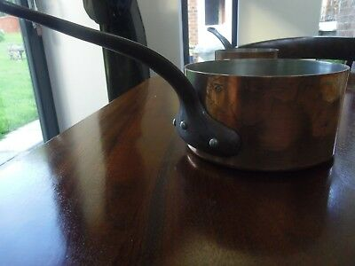 Two Heavy Copper Pans French Le Gourmet stamps
