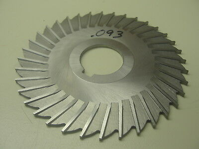 """Horizontal Milling Cutter .093 Thick 1"""" Arbor ( Item 284 )"""