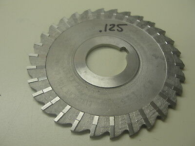 """Horizontal Milling Cutter .125 Thick 1"""" Arbor ( Item 291 )"""