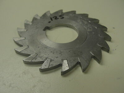 """Horizontal Milling Cutter .125 Thick 1"""" Arbor ( Item 387 )"""