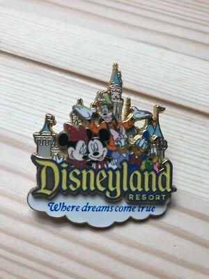"2007 Disneyland Resort Pin!! Great Condition! 3-D ""Where Dreams Come True""!!"