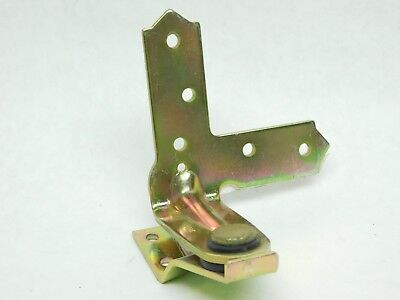 New Replacement Left Hand Casement Window Hinge Yellow Zinc Finish Surface Mount