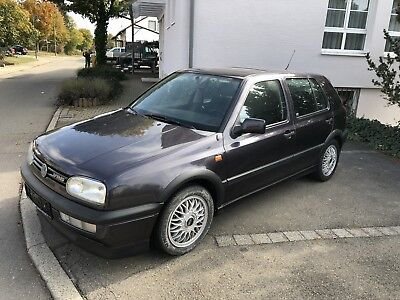 Original Golf 3 Vr6 2.8 1.Hand Top Zustand BBS