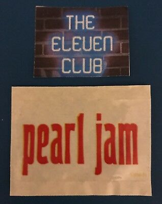 Pearl Jam Sticker 1993 VS Promo Vinyl LP CD New Hype Decal MINT Vedder Rare OOP