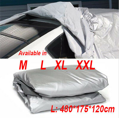 Large Size Full Car Cover UV Protection Waterproof Breathable Size M L XL XXL UK