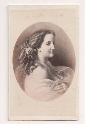 Vintage CDV Empress Eugénie of France