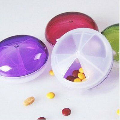 Candy-Colored Ufo Shape Three-Piece Pill Box First Aid Kit Outdoor Survival NS