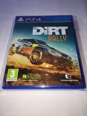 Dirt Rally - Ps4 - Pal - Great Price - Trusted - Fast - New