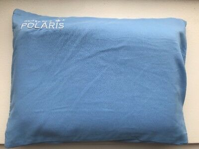 UNITED AIRLINES POLARIS BUSINESS FIRST CLASS CoolGel MEMORY FOAM PILLOW Blue