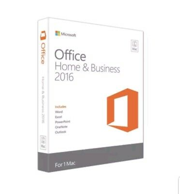 Genuine Microsoft Office 2016 For Mac Home & Business DOWNLOAD