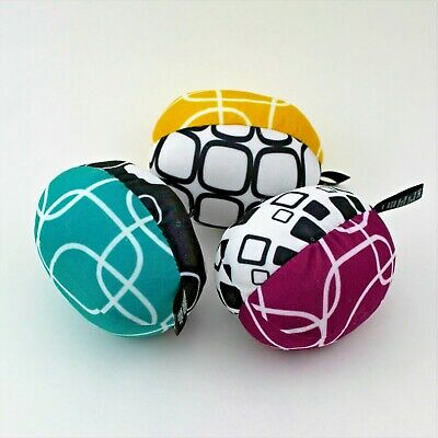 Brand New! Set of 3 MamaRoo Balls Replacement Part Toys Plush 4Moms Baby Swing
