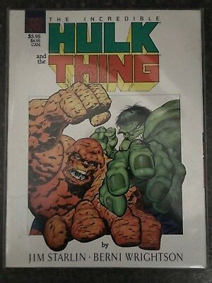 The Incredible Hulk and the Thing, Marvel, TPB, Starlin, Wrightson
