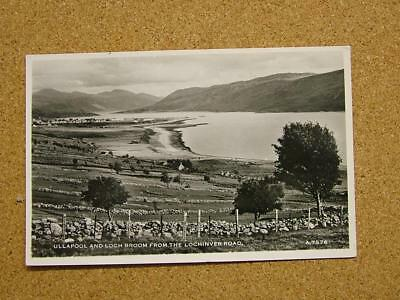 1900s Photo Postcard Ullapool & Loch Broom from the Lochinvar Rd,Scotland.