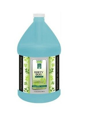 Dirty Dog Pet Shampoo High Concentrate Non-Toxic Biodegradeable Makes 50 Gallons