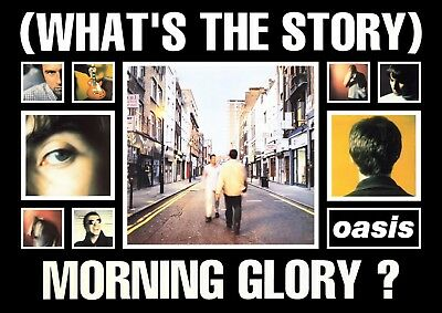 0670 Vintage Music Poster Art - Oasis Whats The Story Morning Glory