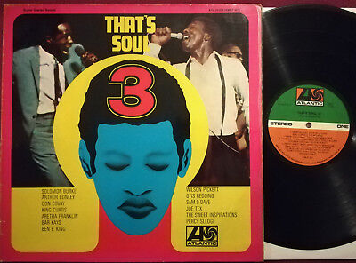 LP THAT`S SOUL 3 - Atlantic ATL 30 009, dt. Press., A.Franklin, King Curtis,u.a.