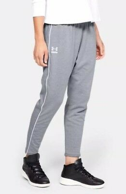 f45965cb2af $45 Under Armour Tapered Slouch Women's Size MEDIUM Athletic Pants Gray  1320630