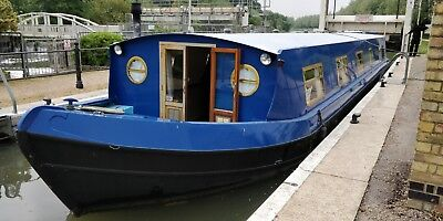 Widebeam Narrow Boat FOR SALE 57ft x 11ft