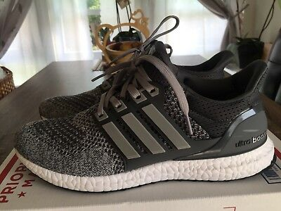 USED - MENS - Adidas Ultra Boost 1.0 Size 10 Wool Grey -  85.95 ... bea450b05