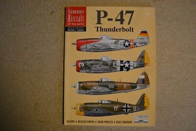 """Squadron-Signal - Famous Aircraft of the World """"P-47 Thunderbolt"""""""