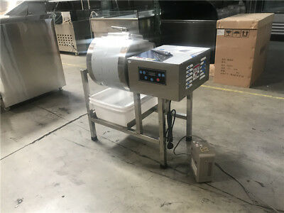 Tumbler Marination Mixer Meat Poultry Machine S/S with Bloating Cooler Depot