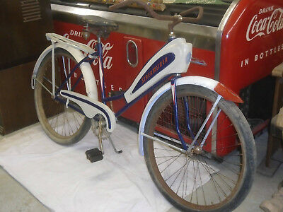 1930s 40s SHELBY SPEEDLINE AIRFLO BICYCLE HIAWATHA ARROW DELUXE STREAMLINE BIKE