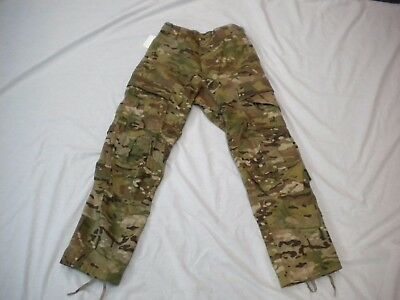 Us Army Multicam  Army Combat Pants W/ Knee Pads Slots Large Regular