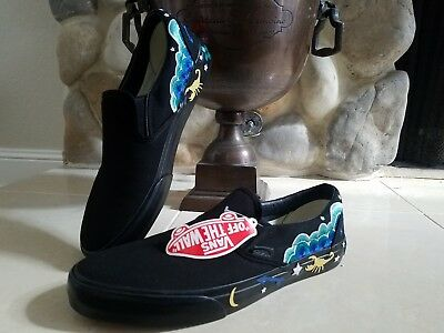 Brand New LIMITED-EDITION Vans Desert Embellish Slip on Size 10.5 US