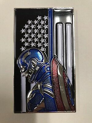 Thin Blue Line- Captain America LEO Police Challenge Coin