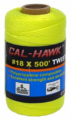 Twisted Mason Construction Line 18 X 500' Lime Green Measuring Layout String