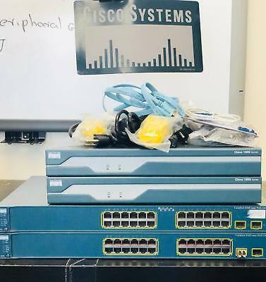 ADVANCED CISCO CCNA V3 and CCNP home lab kit Router IOS 15 - $150 48
