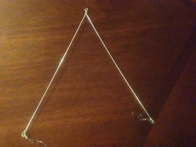 5Pcs Salmon Trolling Spreader With Swivels Made with Strong Wire by VIBRABAIT