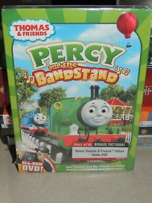 percy and the bandstand dvd thomas and friends bonus tattoos