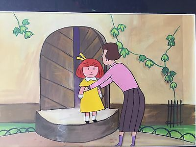 Madeline Animation Production Cel