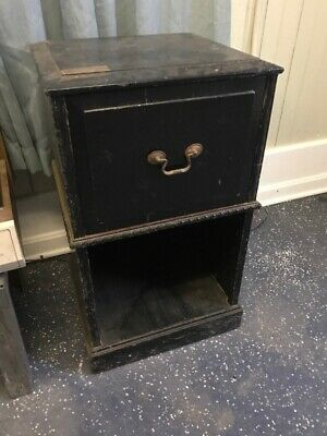Rare Vintage General Electric Record Player Cabinet wood LM-25 antique Turn GE