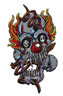 "ICP Insane Clown Posse Embroidered Iron On Patch Badge 3/""//7.6cm"