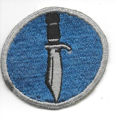 Wwii Kiska Task Force Silver Blade And Outer Border Patch