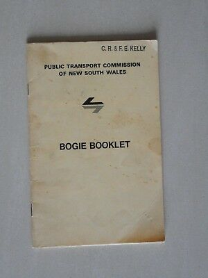 Public Transport Commission NSW - Bogie Booklet