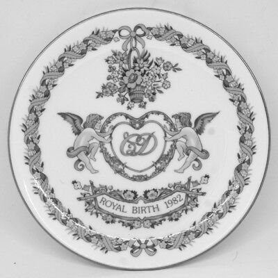 Wedgewood Royal Birth 1982 Commemorative Plate - Prince William