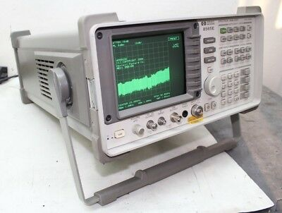 HP Agilent 8565E Spectrum Analyzer 30 hz - 50 GHz NIST Calibrated FULLY LOADED