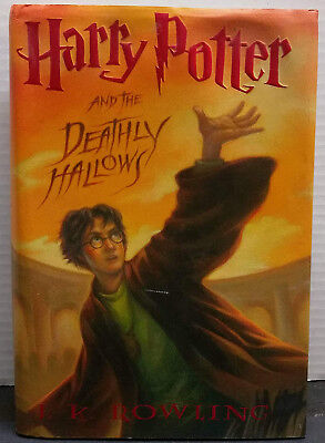 Harry Potter and the Deathly Hallows by J.K. Rowling ~Year 7~ 1st US Edition HC