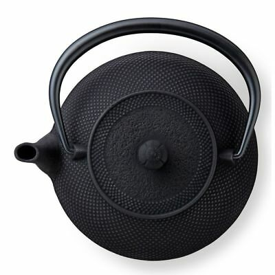 40 oz Large Black Hobnail Japanese Cast Iron Tea Kettle by: TEAVANA
