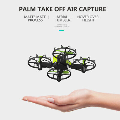 Mini 2.4G FPV RC Drone With HD Camera VR Headless Mode Wifi Quadcopter 3D Flips