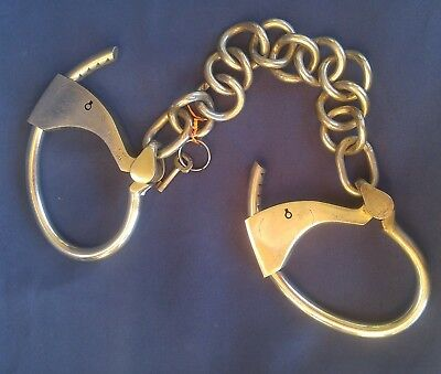 Tower Double Lock Leg Cuffs restraints shackles
