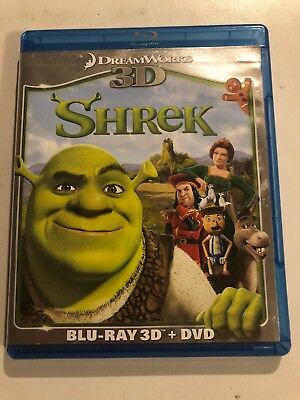 Shrek Forever After 3D (Blu-ray 3D + DVD Combo) With Sticker Book!