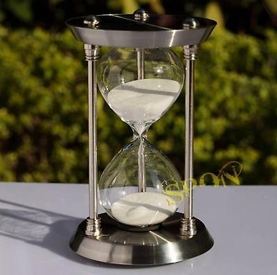 30 Minutes Brass Sand Clock Hourglass Sandglass Sand Timer Home Office Gifts
